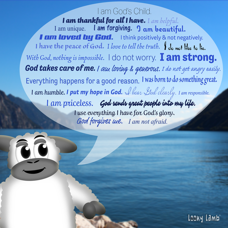 Christian Positive Affirmations for Kids